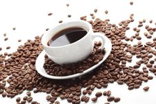 Free Cup With Coffee Royalty Free Stock Photos - 18889298