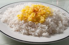 Free White And Yellow Rice Stock Photos - 18889433