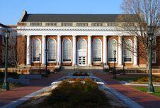 Free UVA Alderman Library Royalty Free Stock Photo - 18889855