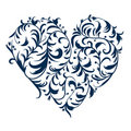 Free Floral Ornament Heart Shape For Your Design Royalty Free Stock Photo - 18892535