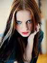 Free Beautiful Model Woman Face With Fashion Make-up Royalty Free Stock Photos - 18896978