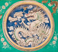 Free Dragon Power Pattern On The Wall Stock Photo - 18898370