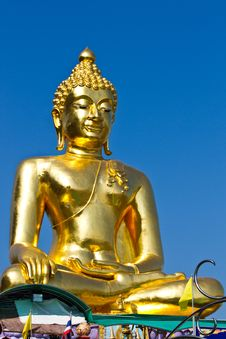 Free Golden Buddha Under The Open Sky Stock Photos - 18890803