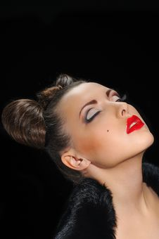 Free Bow Coiffure Royalty Free Stock Image - 18890966