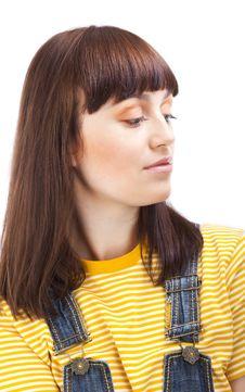 Free Close Up Portrait Of Adult Brunette Stock Photo - 18891380