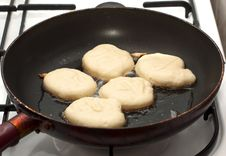 Free Raw Pancakes Royalty Free Stock Images - 18891479