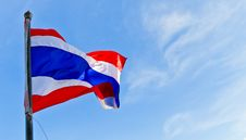 Free Thailand National Flag Royalty Free Stock Photo - 18891925