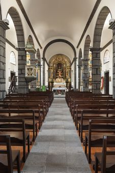 Free Church In Azores Stock Photography - 18891952