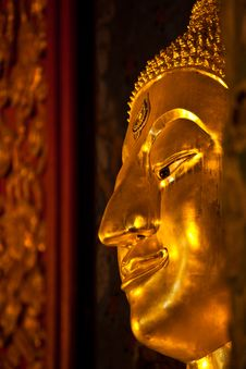 Free Close Up Of Golden Buddha Stock Photos - 18892283
