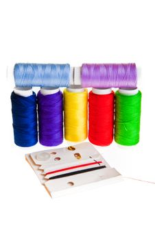 Free Colorful Sewing Threads Stock Photography - 18892342