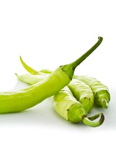 Free Green Chilly Royalty Free Stock Images - 18892629