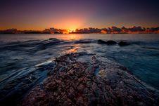 Free Sunrise On The Rocks Stock Images - 18892714