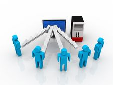 Free Computer Network Stock Photo - 18892820