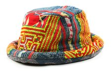 Thai Colored Hat Royalty Free Stock Photo