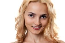 Free Portrait Of A Beautiful Blonde Stock Images - 18892954