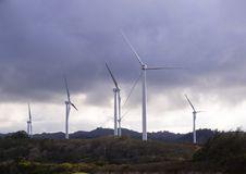 Free Wind Mill Farm In Oahu Hawaii Stock Photography - 18893402
