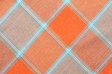 Free Checkered Tablecloth Background Stock Photo - 18893590