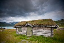 Free Old Cabin In Norway. Stock Photo - 18893830