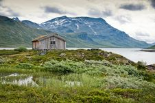Free Cottage In The Mountain. Stock Photography - 18893922