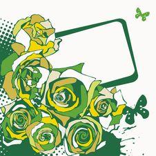 Free Floral  Postcard Stock Photos - 18894293