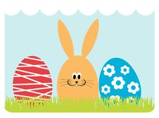 Free Easter Greeting Card Royalty Free Stock Photography - 18894507