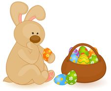 Free Cartoon Little Toy Bunny Royalty Free Stock Photography - 18894697