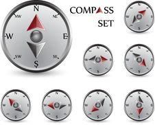Free Compass Set Stock Image - 18895351