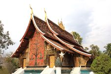 Wat Xiangthong Stock Photography
