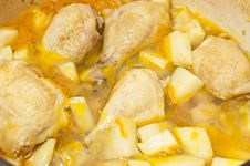 Free Chicken And Potato Soup Royalty Free Stock Photo - 18895905
