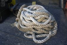 Tangled Rope Royalty Free Stock Photo