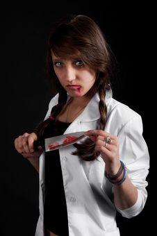 Free Crazy Nurse Stock Photography - 18897182
