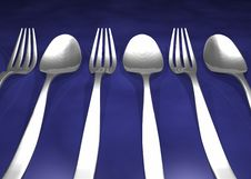Free Forks Royalty Free Stock Image - 18897496