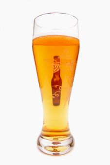 Pint Of Beer And Bottle Stock Photography