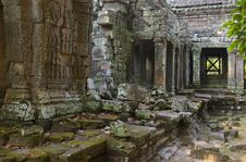 Free Ta Phrom Temple In Angkor Stock Photos - 18898553