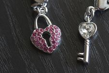 Free The Key To Open The Heart Royalty Free Stock Images - 18898779