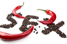 Free Red Chili Royalty Free Stock Photography - 18899227