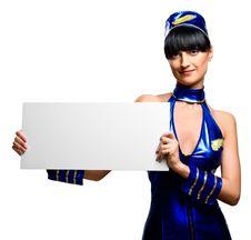 Free Beautiful Stewardess Stock Images - 18899344