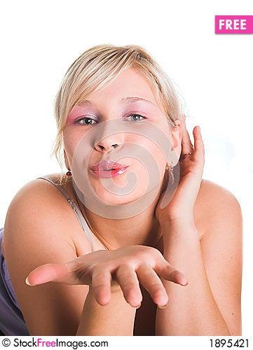 Free Air Kiss Stock Image - 1895421