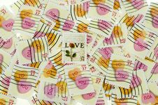 Free Valentine Stamps Stock Photos - 1890123