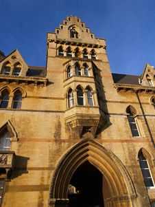 ChristChurch College Oxford Royalty Free Stock Image