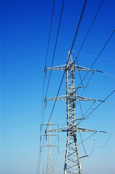 Free Power Line Royalty Free Stock Image - 1890836