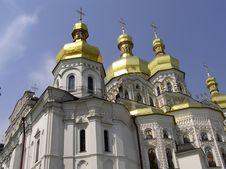Free Kiev Pechersk Lavra Cupola Royalty Free Stock Photos - 1892108
