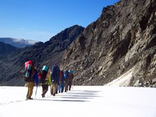 Free Group_of_Mountaineers Stock Photo - 1893480