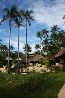 Free Tropical Resort Royalty Free Stock Images - 1893979