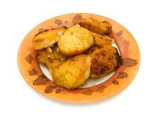 Free Potato On Dish Stock Photos - 1894233