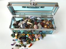 Free Gem Treasure Chest Royalty Free Stock Image - 1894276