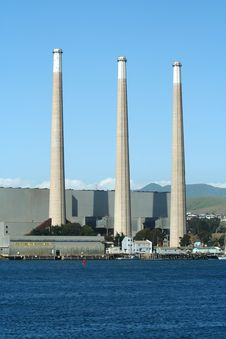 Free Power Plant 3 Stacks Stock Images - 1894664