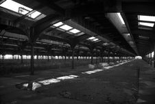 Free Abandoned Railway Station Stock Image - 1894731