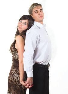 Free Young Beautiful Caucasian Heterosexual Couple Stock Photography - 1895022