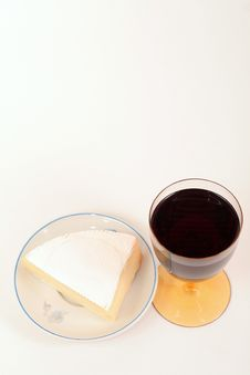 Free Cheese And Red Wine Royalty Free Stock Photos - 1895348